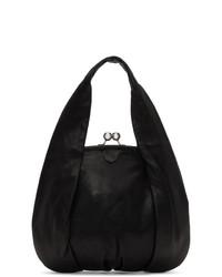Ys Black Clasp Hand Bag