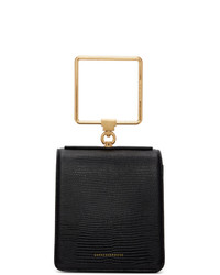 Marge Sherwood Black Pump Handle Bag