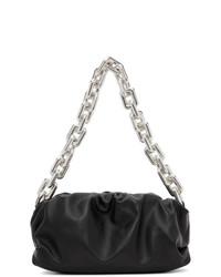 Bottega Veneta Black The Chain Pouch Clutch