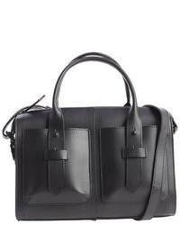 b992ca483a ... IIIBeCa by Joy Gryson Blueberry Leather West Broadway Convertible Small  Tote Bag