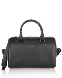 Classic duffle mini leather bag black medium 380291