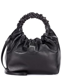 The Row Double Circle Leather Tote