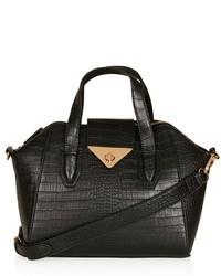 Topshop Faux Leather Mini Evening Bag