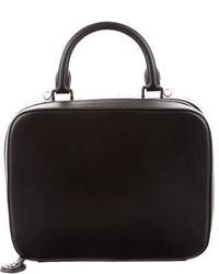 Sandro Leather Handle Bag