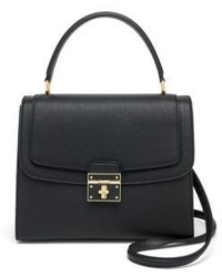 Dolce & Gabbana Leather Top Handle Satchel