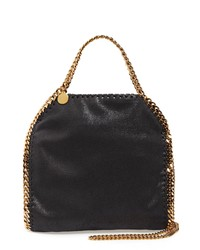 Stella McCartney Mini Falabella Shaggy Deer Faux Leather Tote