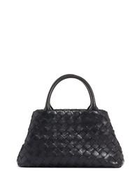 Bottega Veneta Mini Intrecciato Leather Double Handletote Bag