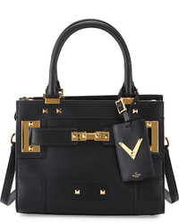 Valentino My Rockstud Mini Top Handle Tote Bag Black
