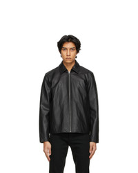 Rag and Bone Black Leather Sawyer Jacket