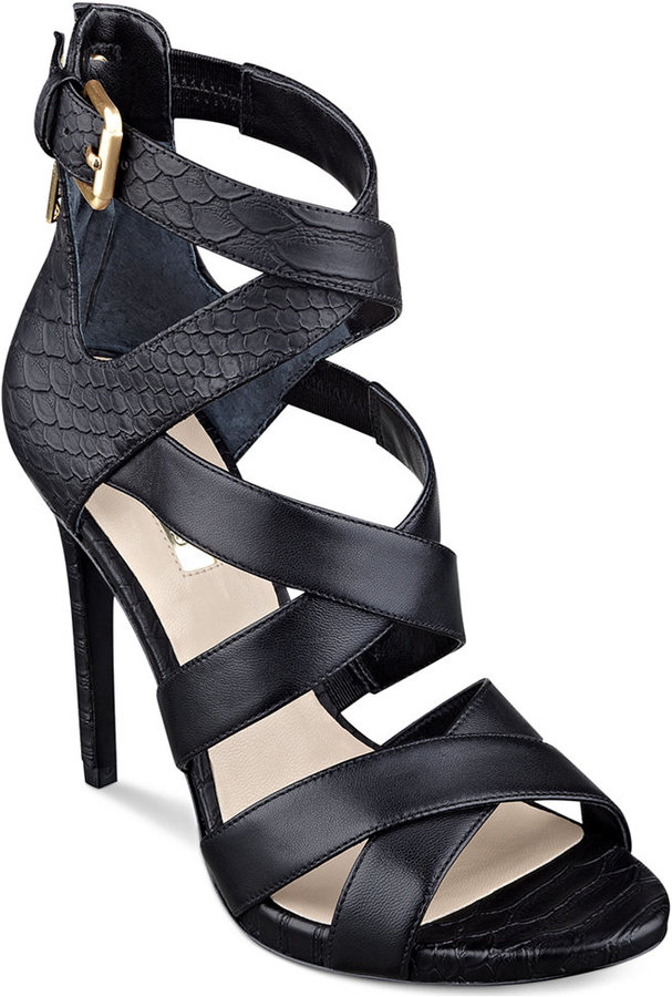 GUESS Abby Strappy Dress Sandals, $120