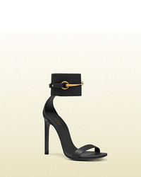 Gucci Ankle Strap Leather Sandal
