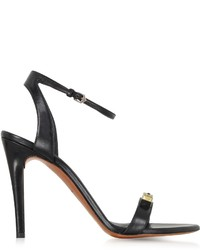 Proenza Schouler Black High Heel Leather Sandal