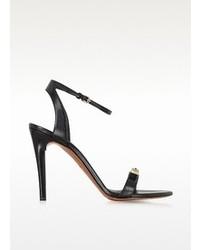 Proenza Schouler Black High Heel Leather Sandal