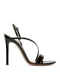 Gianvito Rossi Black Manhattan 105 Heeled Sandals
