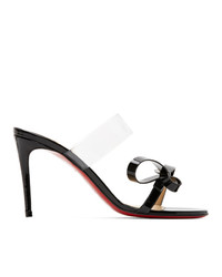 Christian Louboutin Black Patent Just Nodo 85 Heeled Sandals