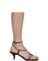 Emme Parsons Black Tobias Heeled Sandals