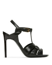 Saint Laurent Black Tribute 105 Heeled Sandals