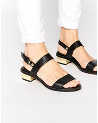 Asos Collection Fancify Two Strap Sandals