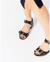 Asos Collection Farquaar Two Part Flat Sandals