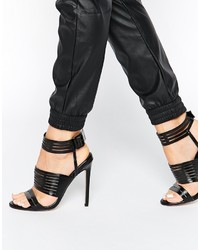 Asos Collection Hurdle Heeled Sandals