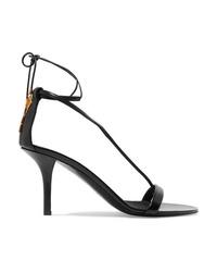 Stella McCartney Embellished Faux Leather Sandals