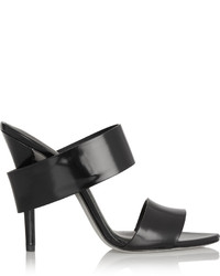 Alexander Wang Glossed Leather Mules