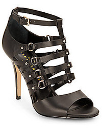 Ivanka Trump Maxy Strappy Leather Sandals