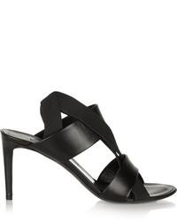 Balenciaga Leather And Elastic Sandals