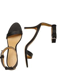 Joe Fresh Leather High Heel Sandals Nude
