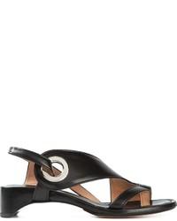 Maison Margiela Strappy Structured Sandals