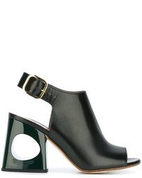 Marni Cut Out Heel Sandals