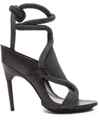 3.1 Phillip Lim Marquise High Heel Calfskin Leather Sandals