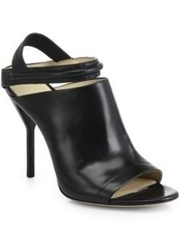 3.1 Phillip Lim Martini Strappy Leather Open Toe Sandals