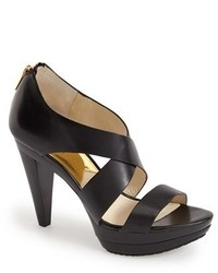 MICHAEL Michael Kors Michl Michl Kors Elena Leather Platform Sandal