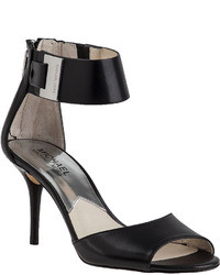 MICHAEL Michael Kors Michl Michl Kors Guiliana Sandal Black Leather