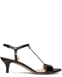 Nine West Yeelied T Strap Kitten Heel Sandals | Where to buy & how ...