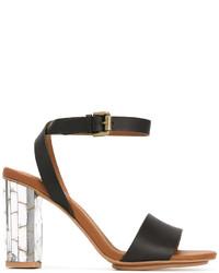 See by Chloe See By Chlo Metallic Heel Sandals