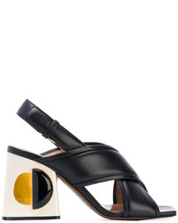 Marni Structural Block Heeled Sandals