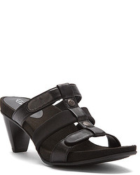 Aetrex Trex Kayla Adjustable 3 Strap Heel Slide