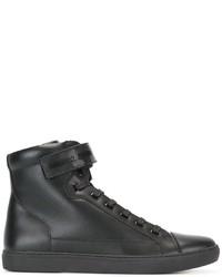 Armani Jeans Velcro Strap Hi Tops