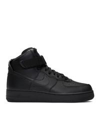 Nike Black Air Force 1 High 07 Sneakers