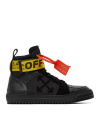 Off-White Black Industrial High Top Sneakers