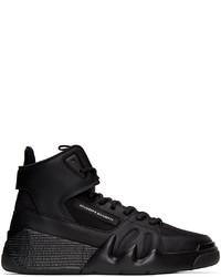 Giuseppe Zanotti Black Jupiter Talon High Top Sneakers