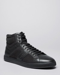 Hugo Boss Boss Acron Leather And Suede