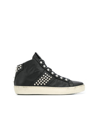 Leather Crown Crown Wiconic Sneakers