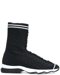 Fendi Hi Top Sneakers