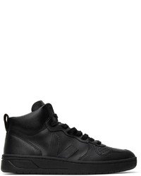 Veja Leather V 15 High Sneakers