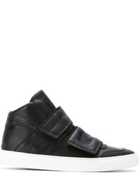 MM6 MAISON MARGIELA Strapped Vamp Hi Top Sneakers