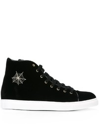 Charlotte Olympia Purrfect Hi Top Sneakers