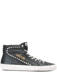 Golden Goose Deluxe Brand Slide Hi Top Sneakers